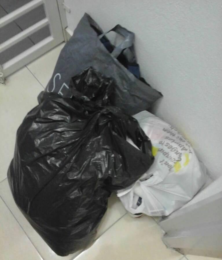攝理教会大扫除之要丢弃的垃圾
