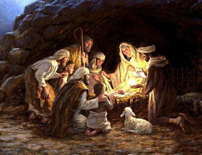 摄理教会庆祝圣诞节_救主耶稣诞生示意图