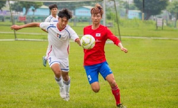 台湾CGM摄理全国足球男子大赛_台韩球员同场竞技