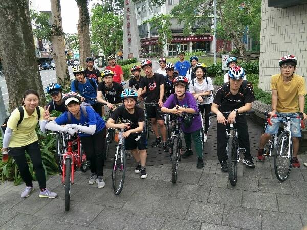 摄理大学生宜兰净滩活动j结合单车社团_低碳交通