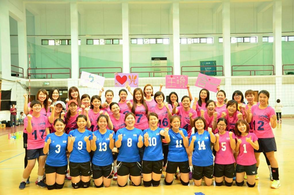 台湾摄理TCGM全国排球联赛合照