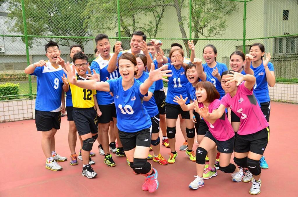台湾摄理TCGM全国排球联赛_雀跃呼喊