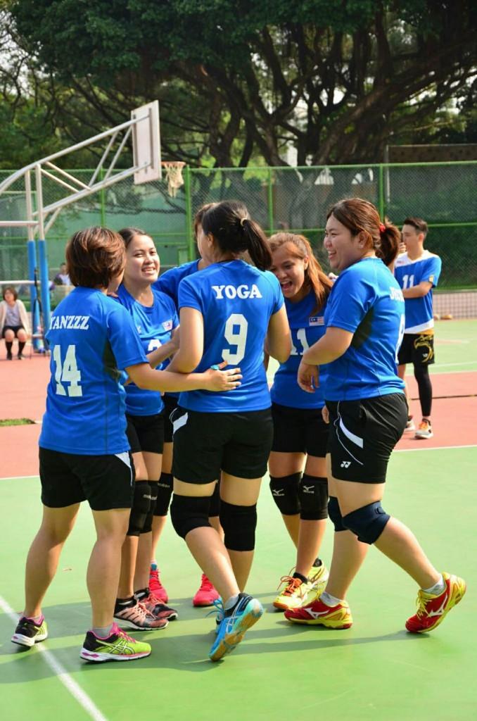 台湾摄理TCGM全国排球联赛_彼此鼓励