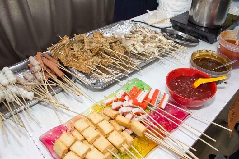 摄理教会庆冬至_MariMariHome_摆卖美食