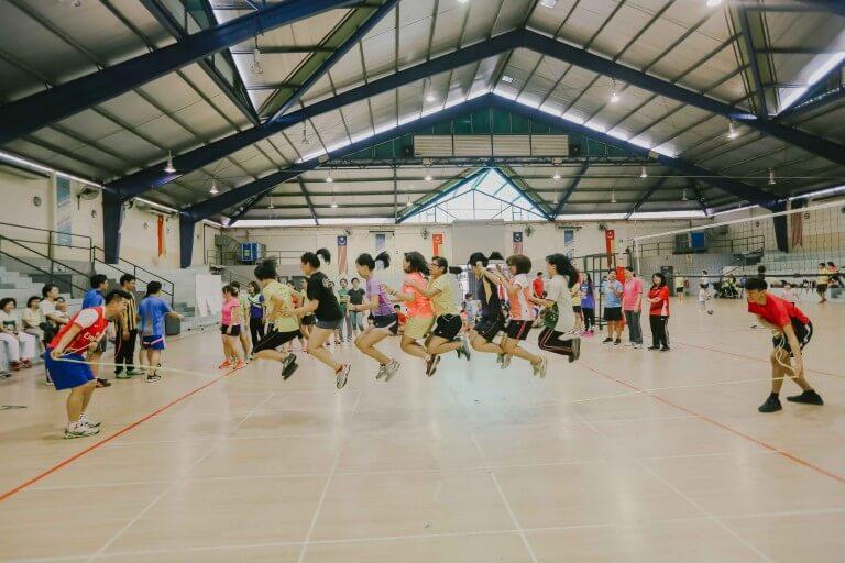 摄理运动会_神的日子_群组跳绳考验默契