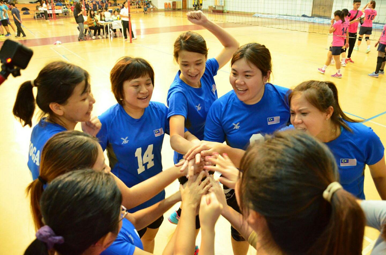台湾摄理TCGM全国排球联赛_加油打气