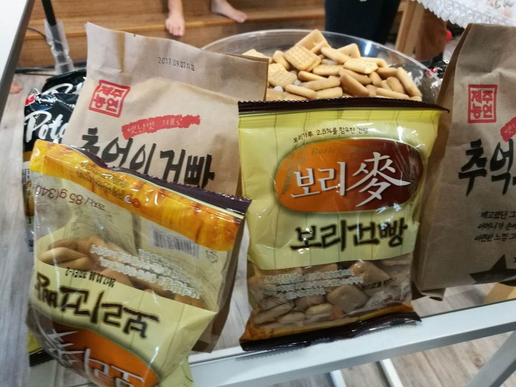 攝理教会健康拉面大赛_韩国零食