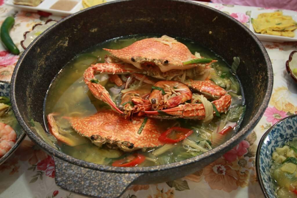 攝理爱与和睦健康拉面大赛_螃蟹料理