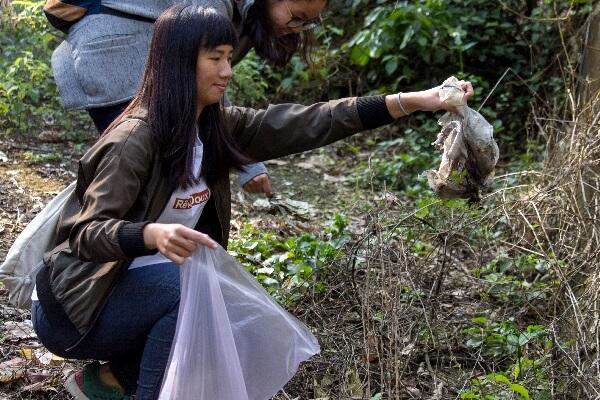 摄理CGM志工团希望唤醒国人_爱护森林的环境意识