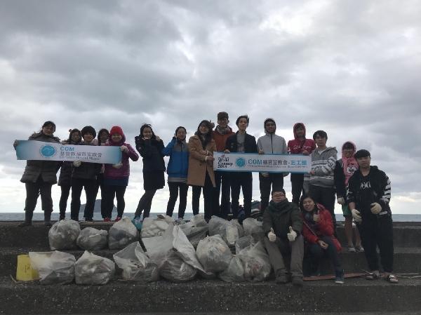 摄理CGM湛放基隆──海堤淨滩活动