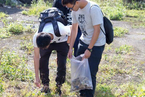 摄理CGM青年志工用行动守护森林
