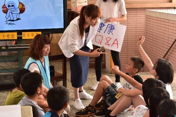 CGM摄理和平医疗团_关闯趣味卫教活动