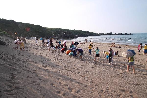 摄理教友中秋海边净滩_郑明析牧师教导神创造的土地都是 神的圣殿
