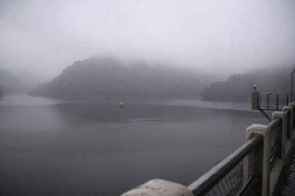 攝理爸妈旅行石门水库之旅_爱护水资源