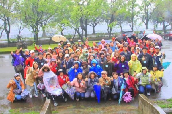攝理爸妈旅行石门水库之旅_神恩典的雨