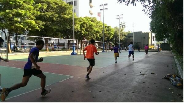 行动力排球教室_基本热身