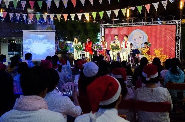 摄理CGM草悟道圣诞音乐响宴_地上有和平