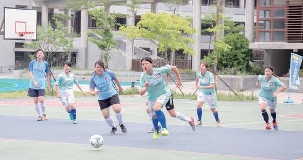 摄理全国女子足球五人制_竞赛过程