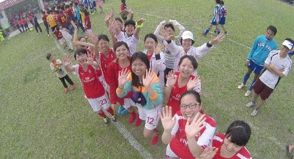 摄理台湾足球挑战新阶段_女足温柔的坚强