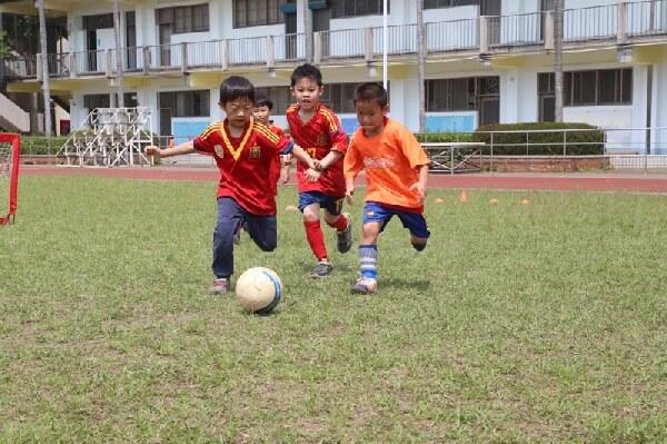 摄理幼儿杯爱与和平足球交流赛