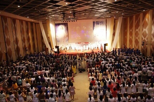 摄理教会发展史_圣灵聚会