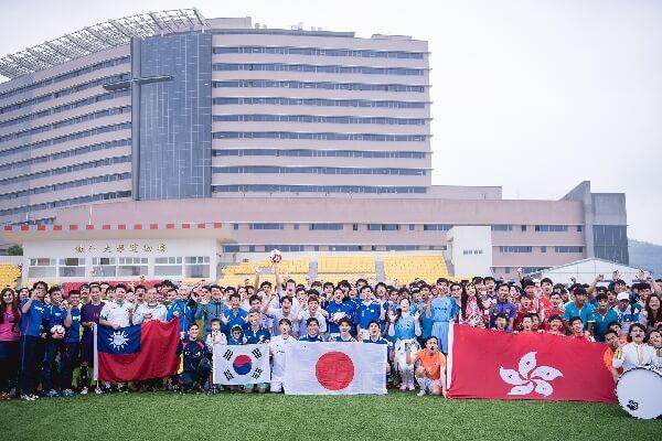 摄理CGM全国足球和平赛_台港日韩球队