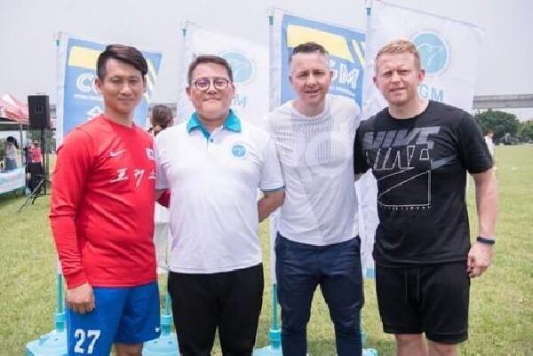 摄理第六届CGM全国男子足球赛_合照