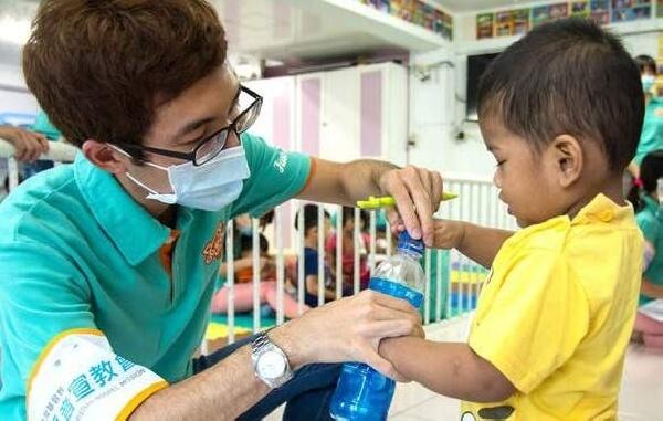 摄理 CGM 和平医疗团关怀儿童