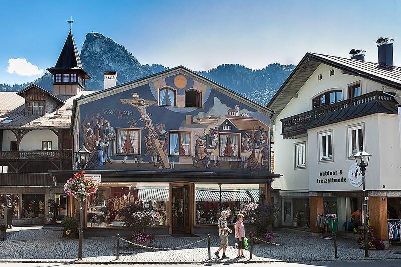 摄理新闻_耶稣受难剧_德国Oberammergau村