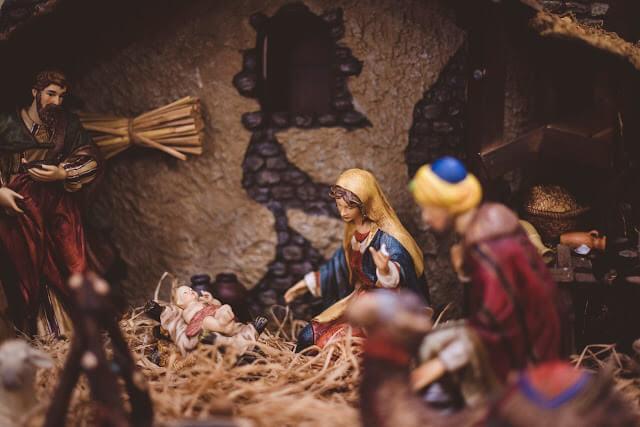 圣诞节最棒礼物_耶稣马槽诞生