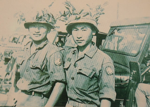 摄理_郑明析_越南战争