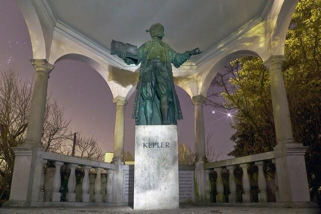 摄理新闻_开普勒雕像