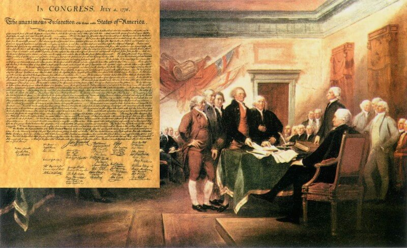 摄理新闻_纸张的价值_美国独立宣言