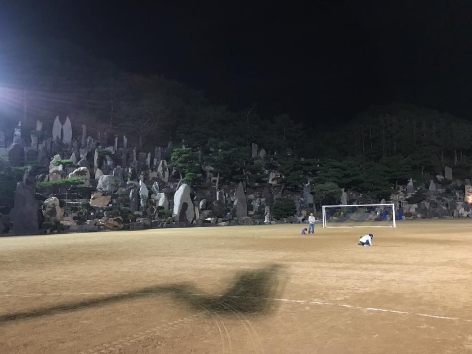 摄理秋季足球赛_月明洞运动场