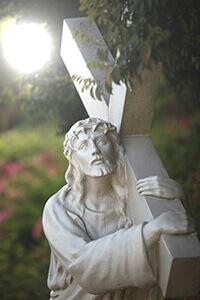 摄理新闻_生命最后两周_耶稣背十字架