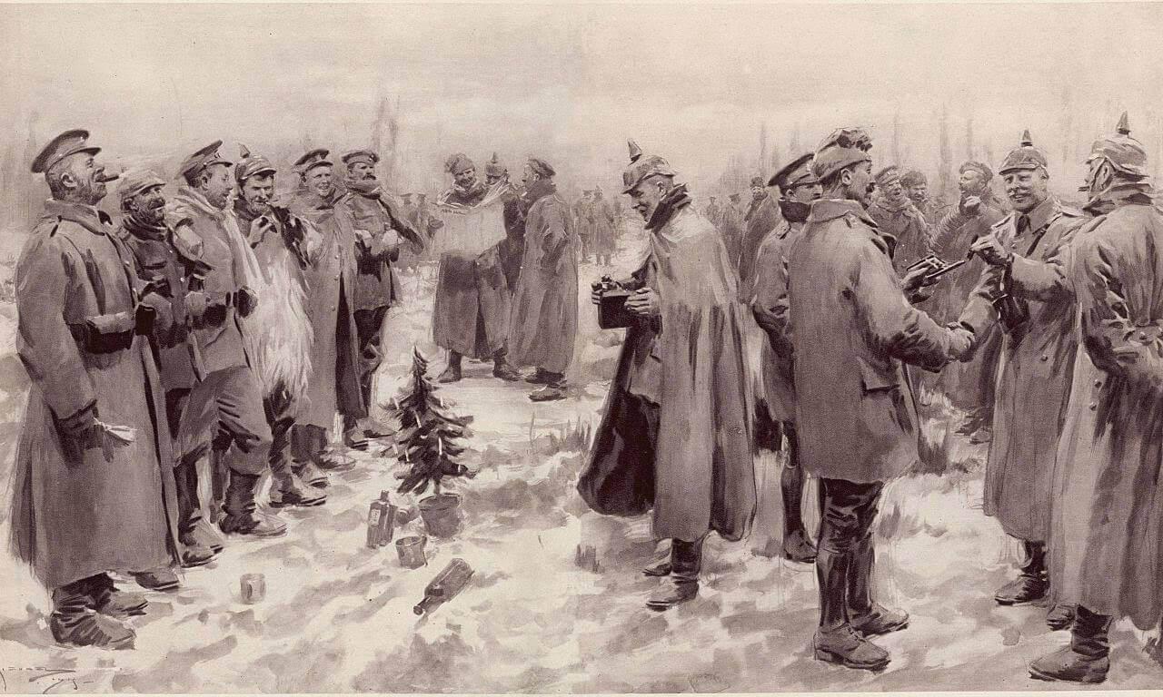 摄理新闻_第一次世界大战_圣诞节和平夜伦敦新闻