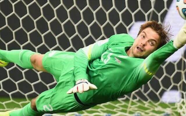 摄理新闻_荷兰门将克鲁尔_足球世界杯四强