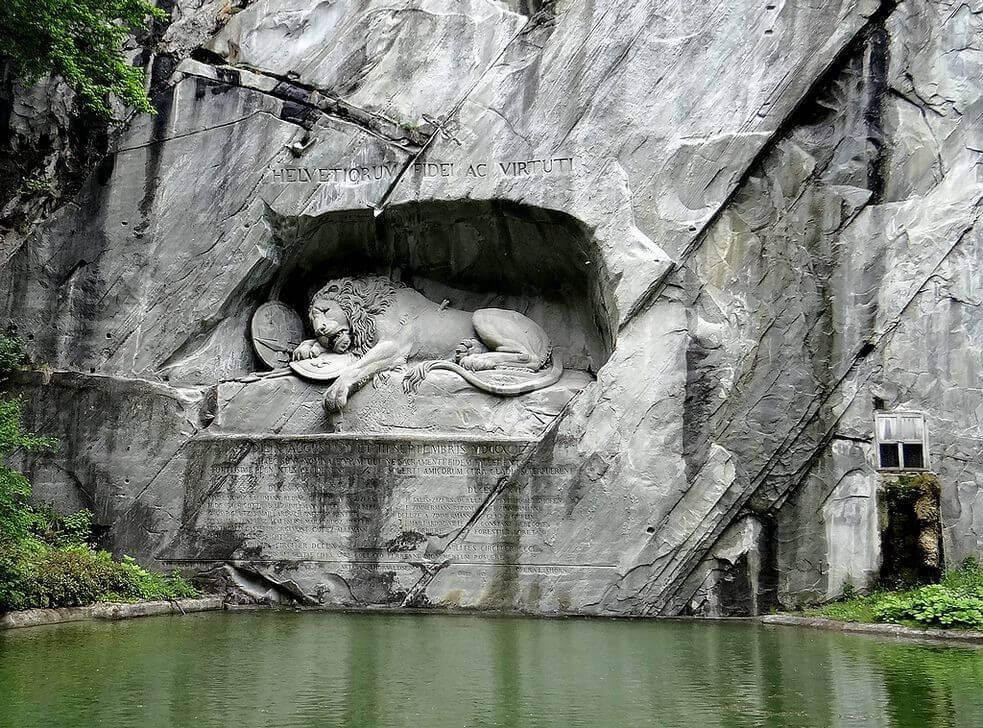 摄理新闻_垂死狮子像_瑞士雇佣兵